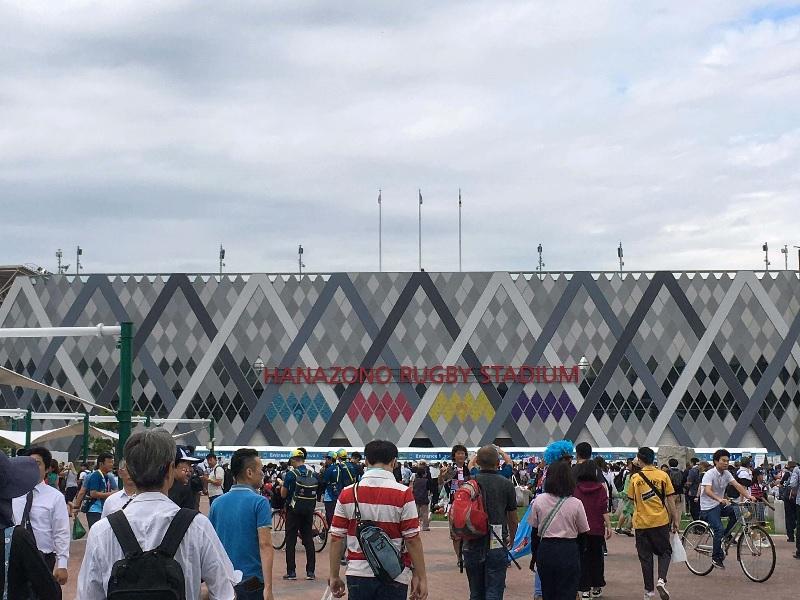 ラグビーワールドカップ・花園ラグビー場