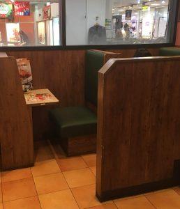 ガスト ビオルネ枚方店のボックス(BOX)席